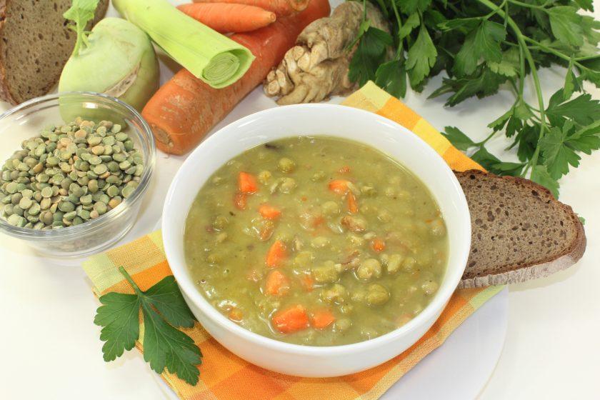 Гороховй суп