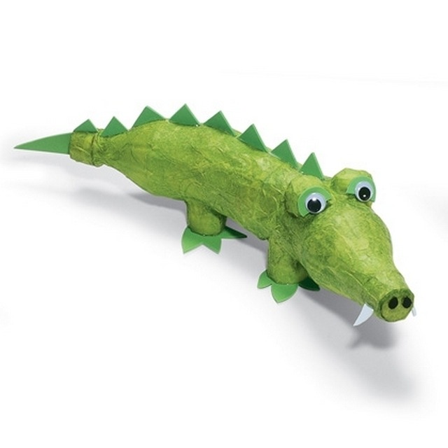 Крокодил из бутылки