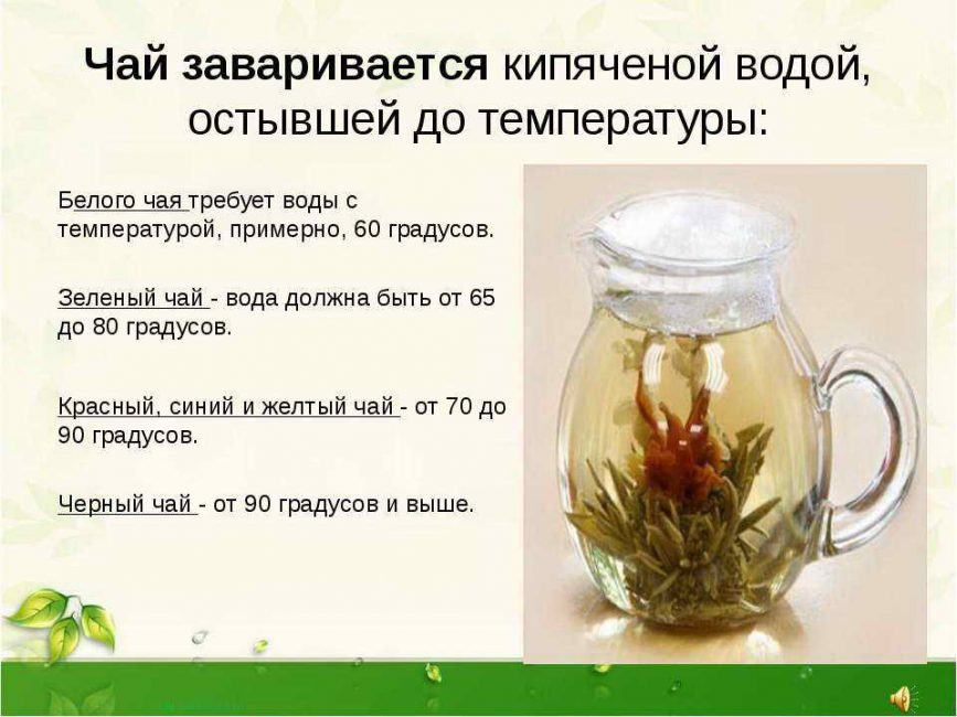 Правила приготовления чая с целью полоскания горла