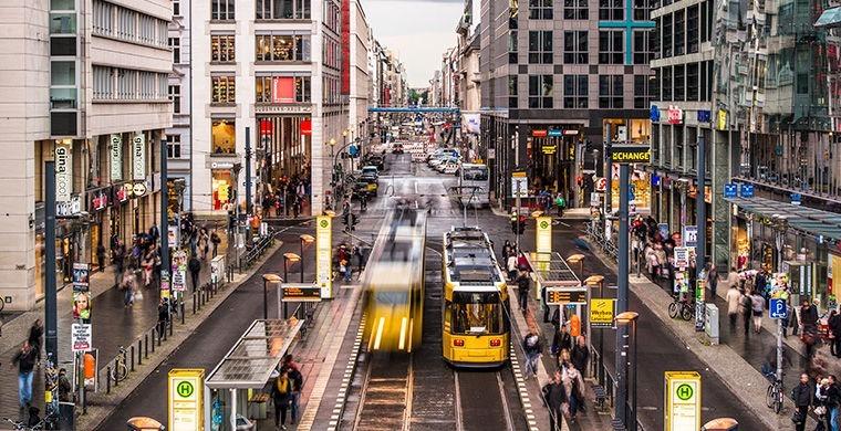 Улицы Берлина в 21 веке