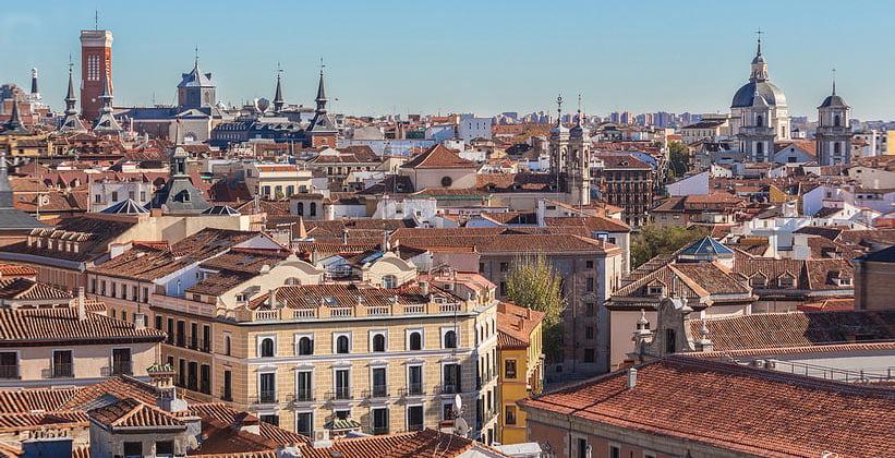 Районы Мадрида с безумной архитектурой