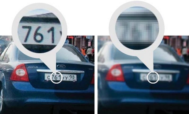 Сравнение AdvoCam – слева и китайской модели за те же деньги – справа