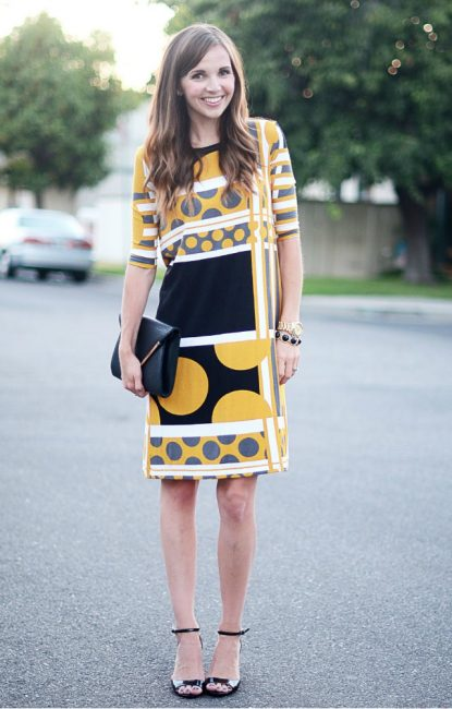 Выкройка платья на лето самое простое