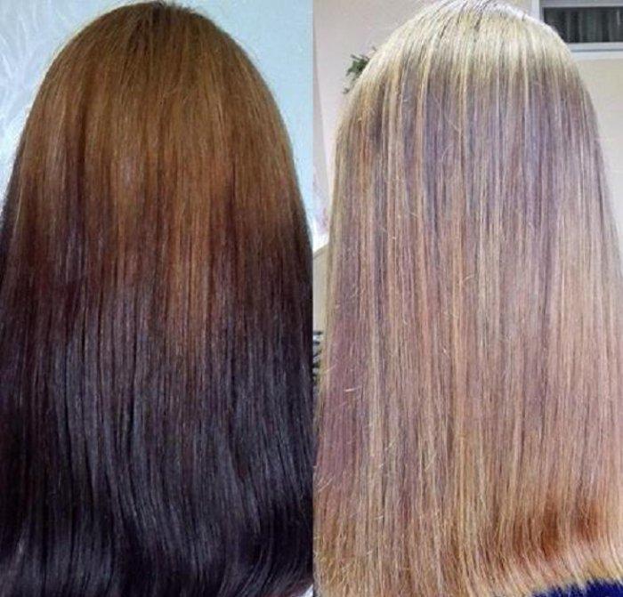 Неудачное окрашивание волос