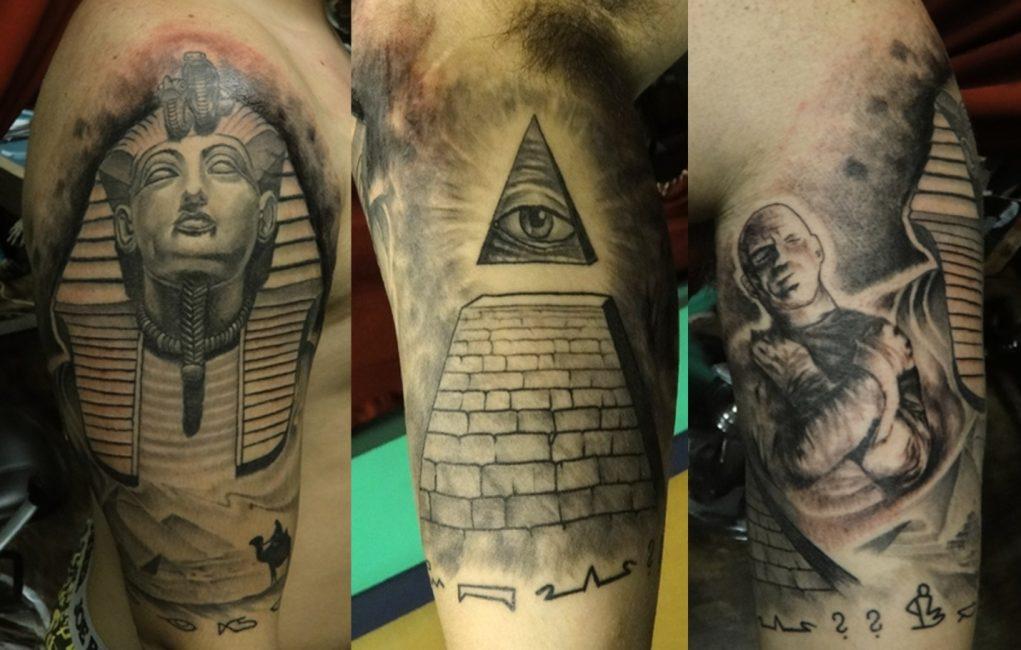 Усеченная сверху пирамида