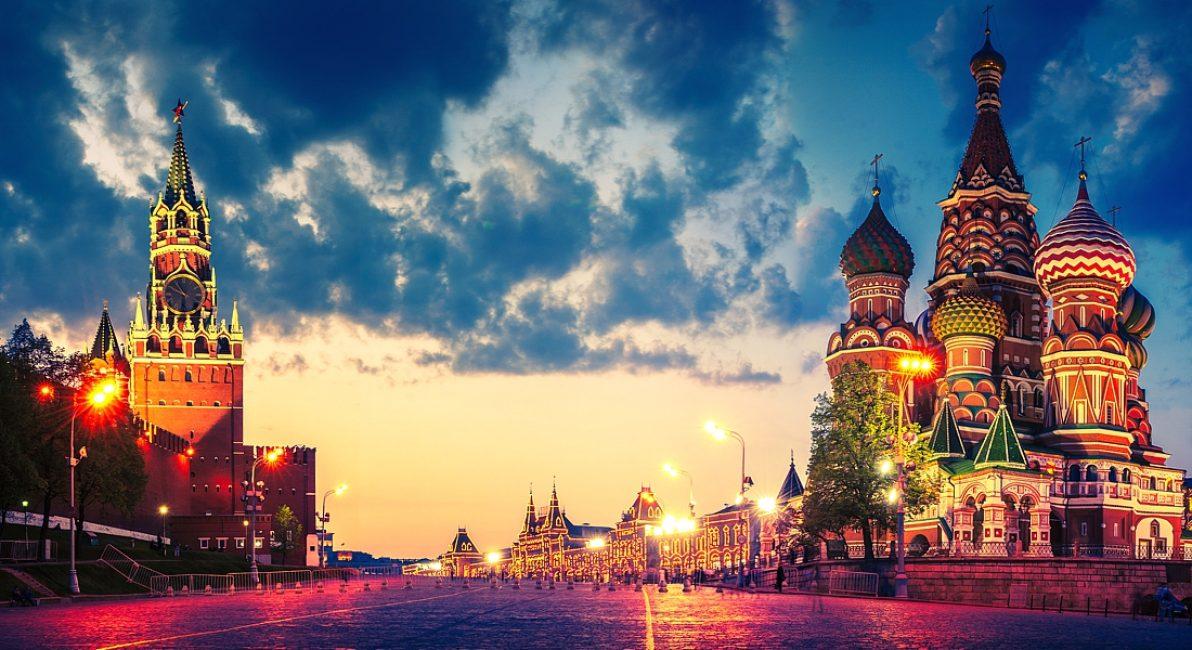 Кремль, Красная площадь и собор Василия Блаженного