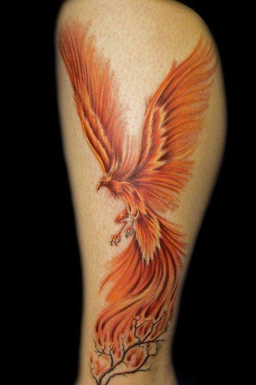 Огненная страсть феникса позволит не раз восставать из пепла и продолжать свой путь.