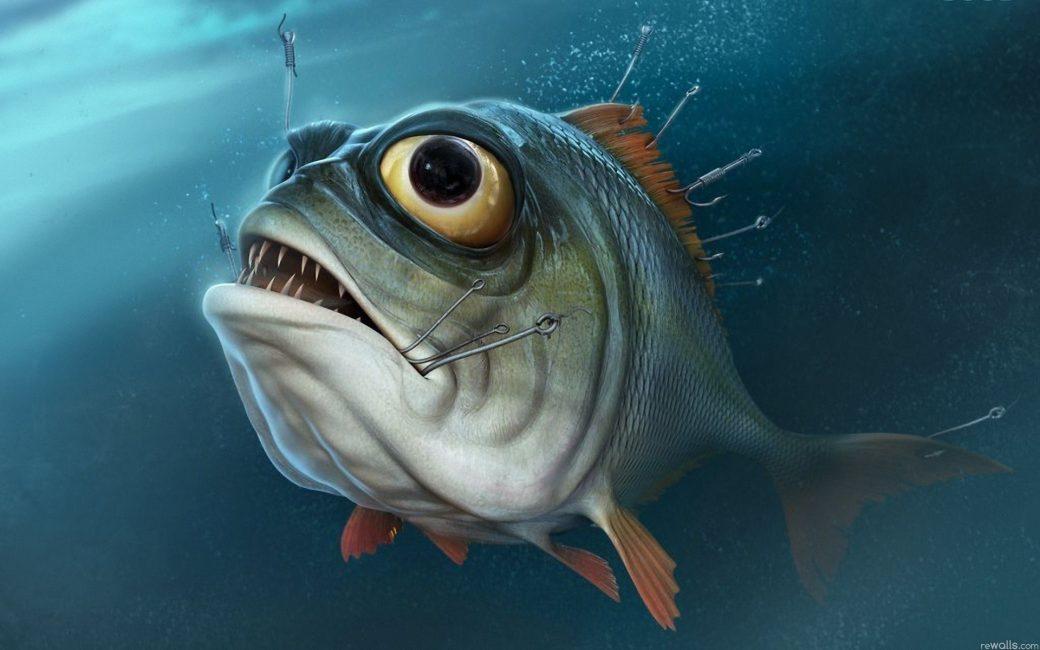 Страшная рыба — не обязательно к беде
