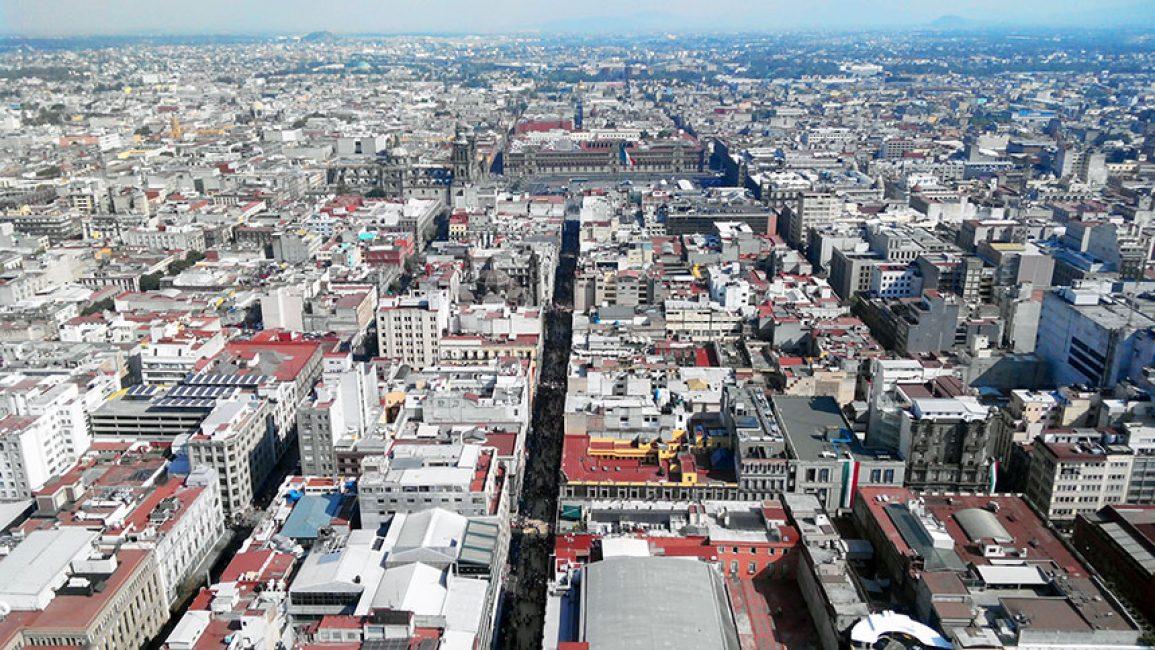 Столица Аргентины с высоты птичьего полета