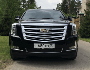 Cadillac Escalade четвёртого поколения