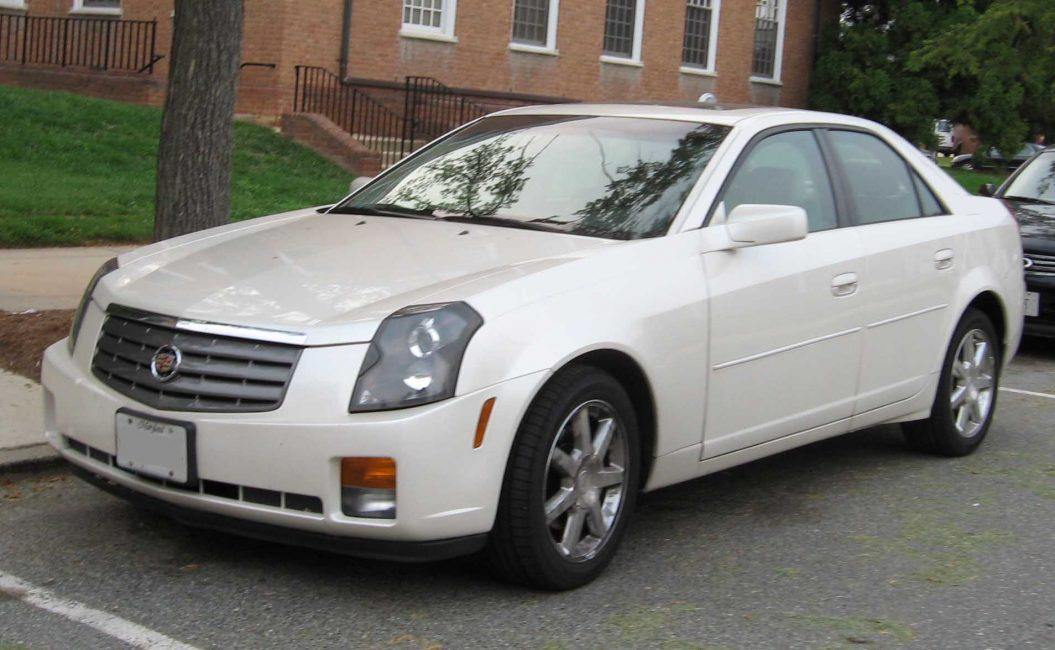 Cadillac CTS первого поколения