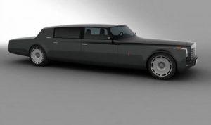 Дизайн-проект представительского ЗиЛа появившийся в 2012 году