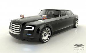 Проект автомобиля для президента Ярослава Яковлева и Бернда Вииля