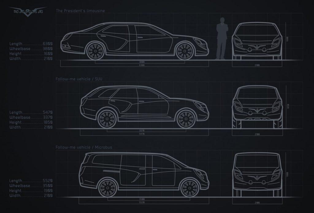 Лимузин проекта «Кортеж» Марселя Себастьена