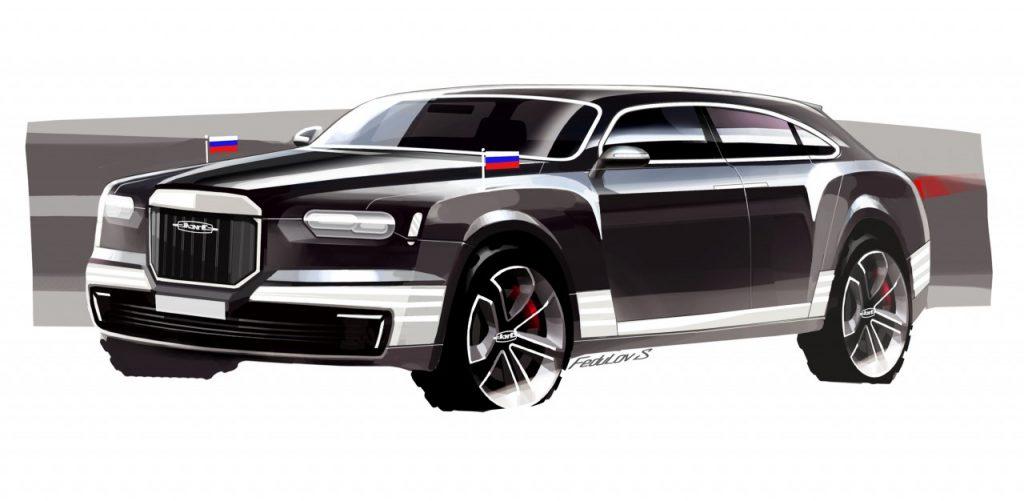 Лимузин который спроектировал Сергей Федулов