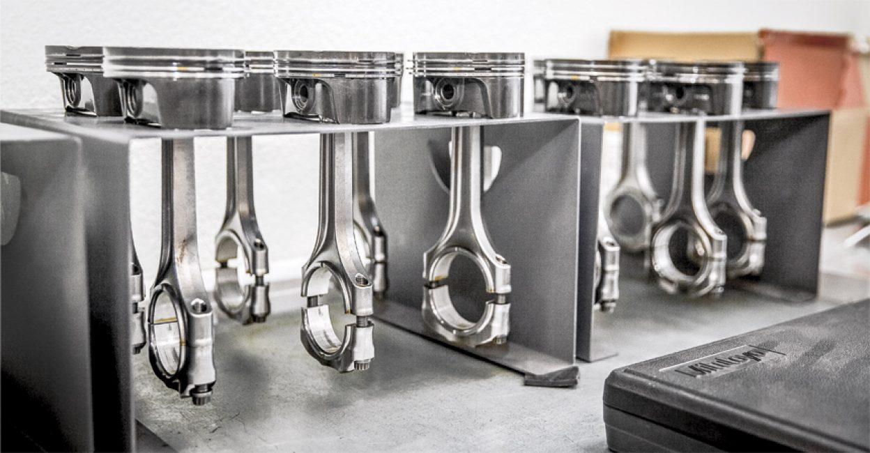 Поршни для 12-и цилиндрового мотора проекта «Кортеж»