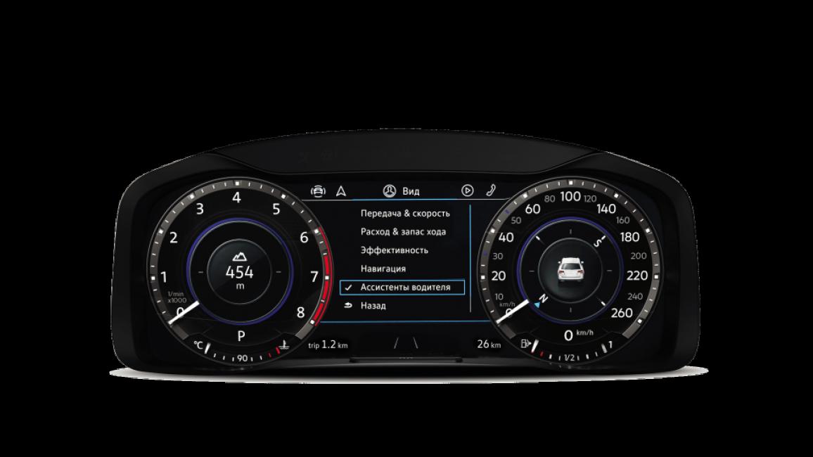 Электронная панель приборов Volkswagen Teramont