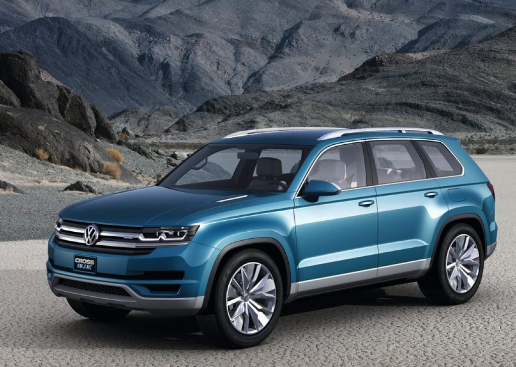 Концепт кар Volkswagen Cross Blue