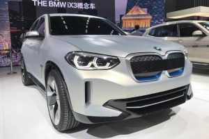 BMW iX3 previewed by concept