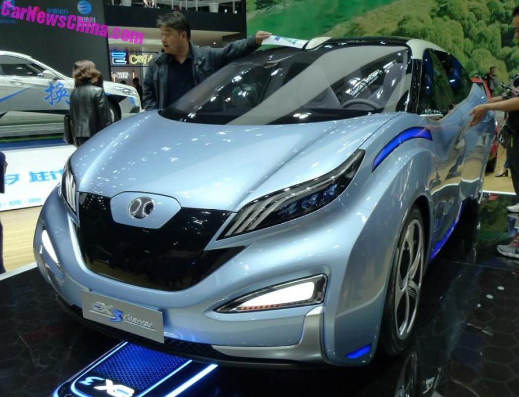 Beijing Auto EX3 concept