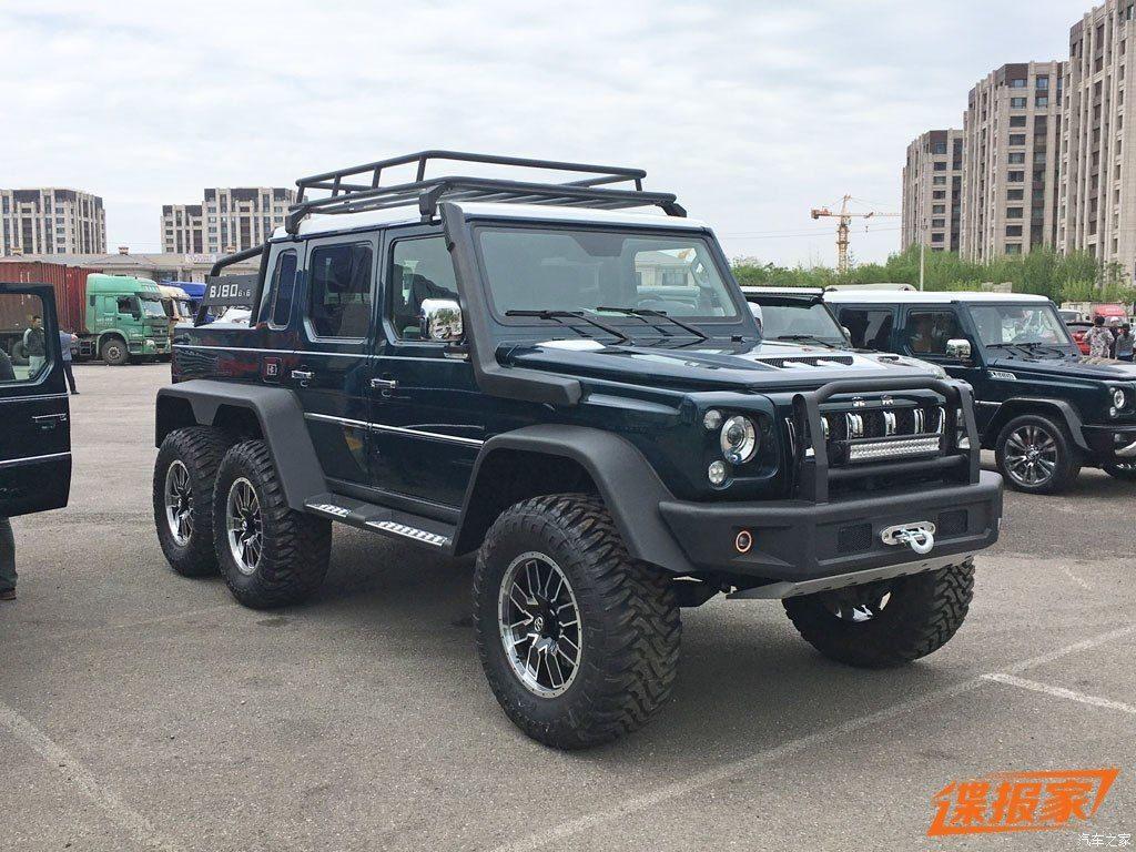 Beijing Auto BJ80 6×6