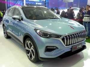 Hongqi E-HS3 electric SUV concept