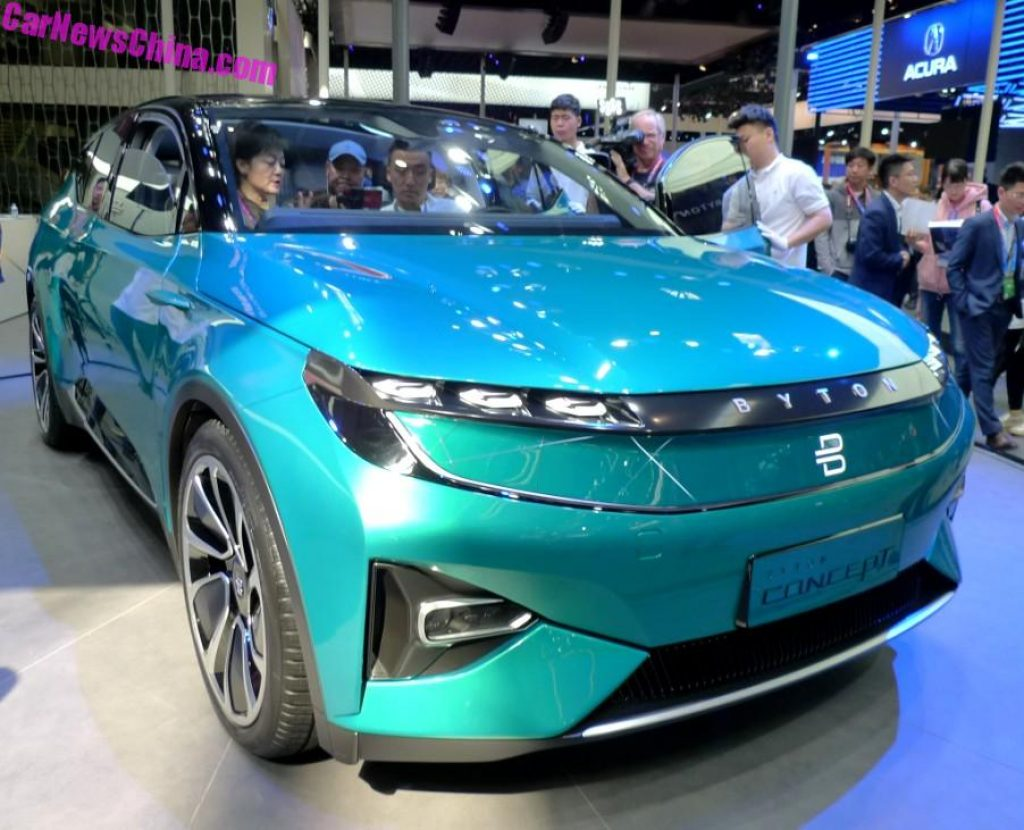 Byton Concept Electric
