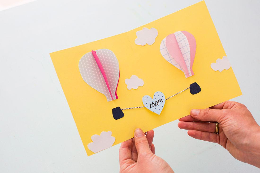 Море, открытка с днем рождения делать с ребенком