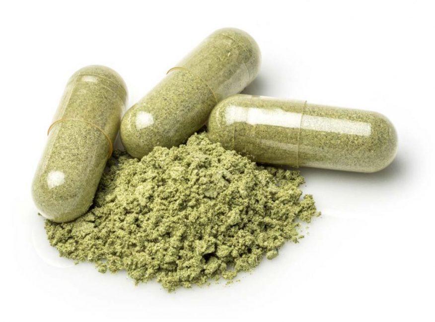 В состав таблеток для похудения входит много растительных экстрактов