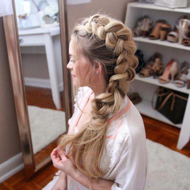 Свободная и стильная коса