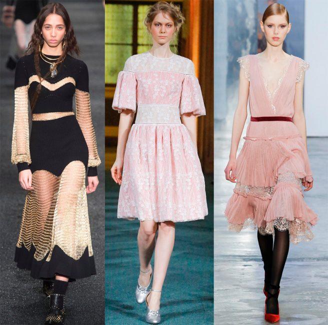 Модные платья весной-летом 2018 года