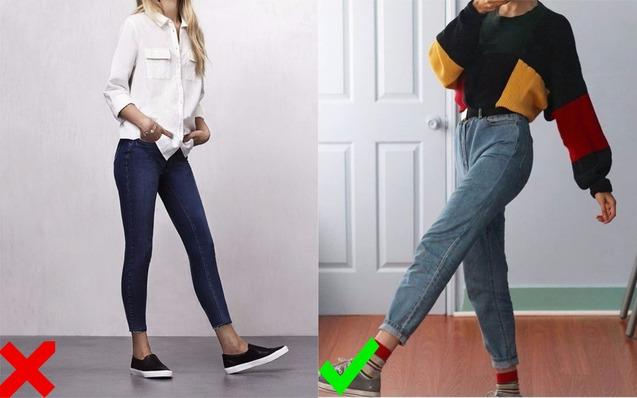 Скинни вытеснили mom-jeans
