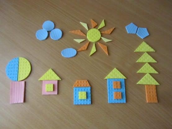Объекты из геометрических фигур