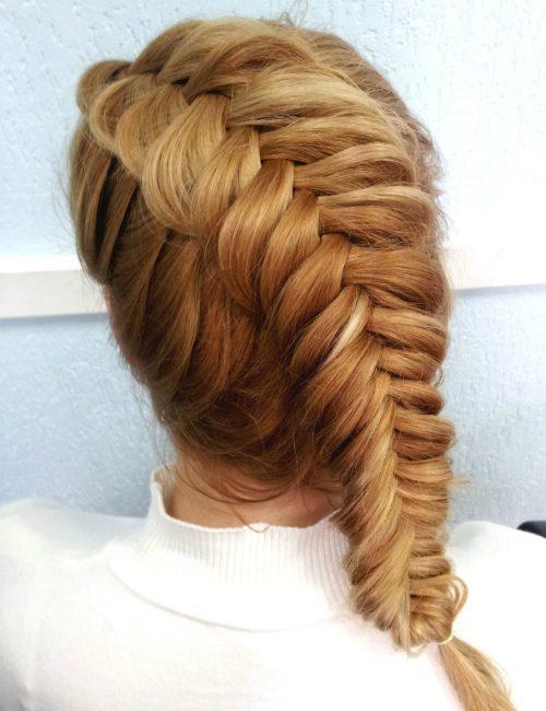 Коса-колосок