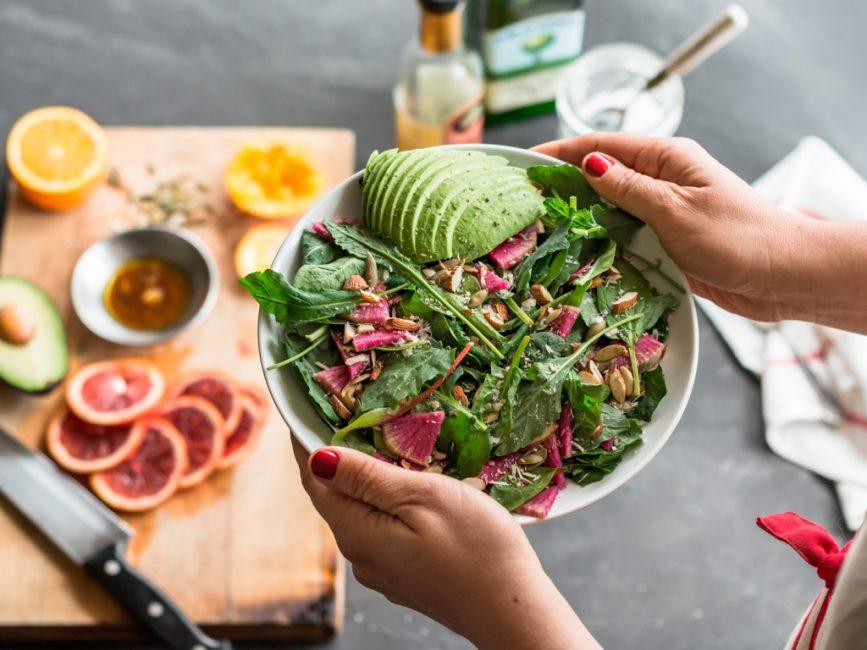 Правильное питание - залог успешной потери массы