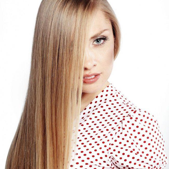 Роскошь прямых волос