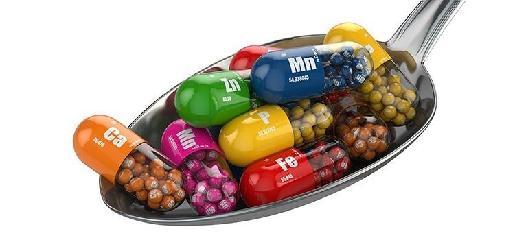 Витамины, минералы и микроэлементы