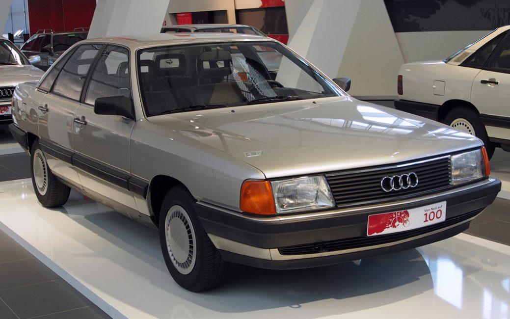 Audi 100 (С3) третьего поколения