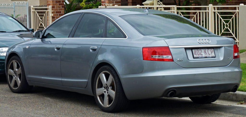 Audi A6 (С6) третьего поколения