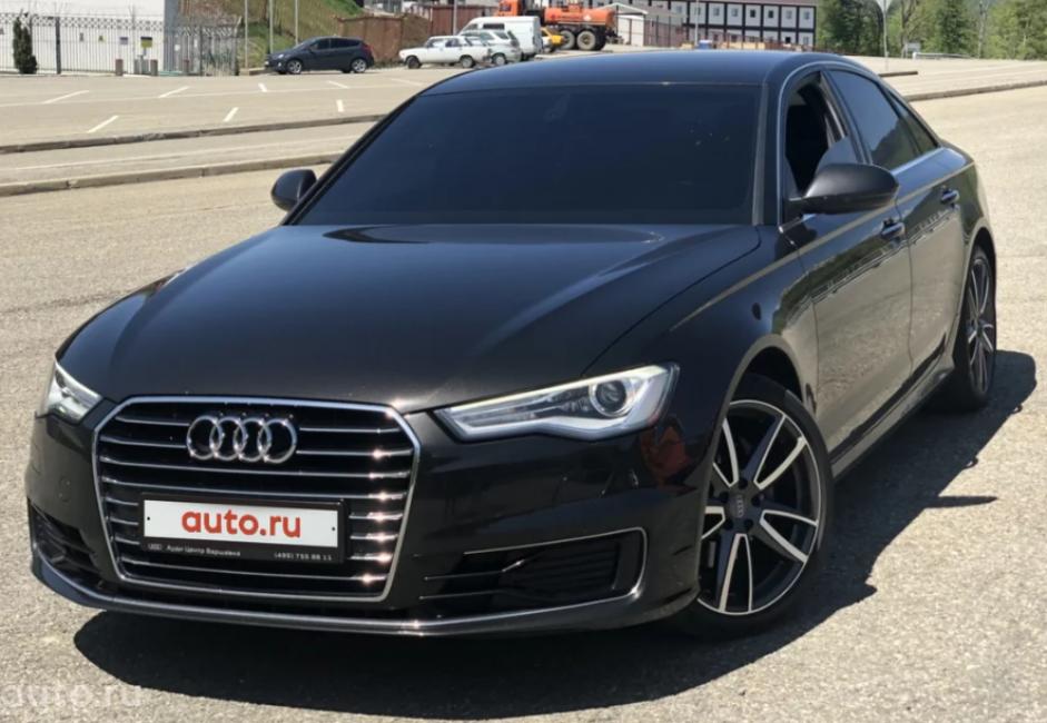 Audi A6 (С6) четвёртого поколения