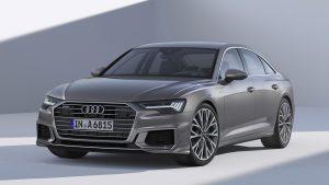 Передок новой Audi A6