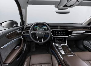 Передняя панель Audi A6