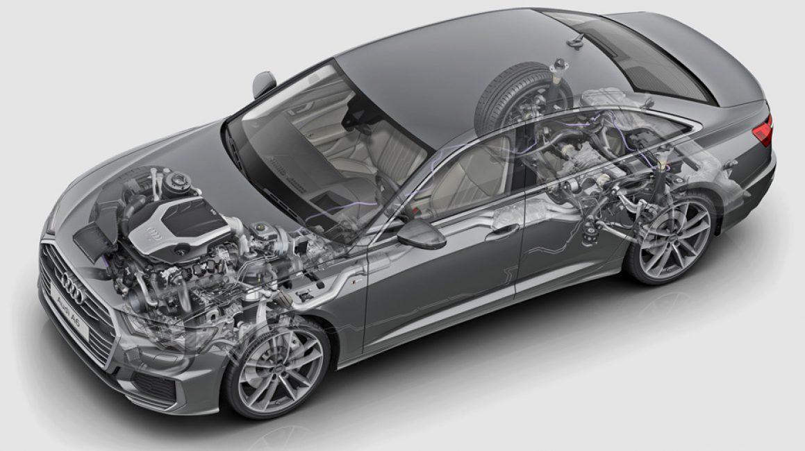 Платформа MLB Evo на Audi A6