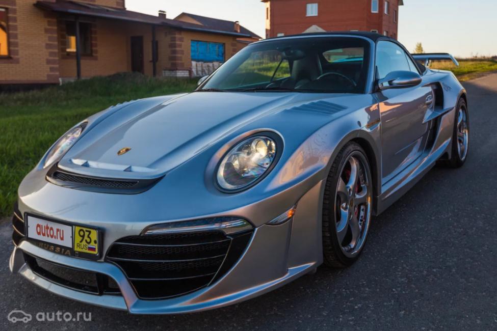 Porsche 911 2008 года стоимостью 4 700 000 рублей