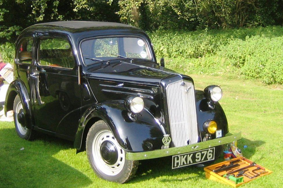 Ford Anglia довоенного выпуска