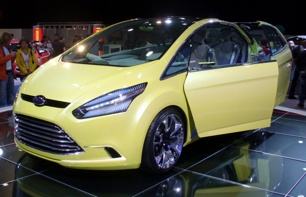 Концепт кар Ford Iosis
