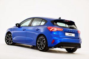 Ford Focus четвёртого поколения, вид сзади