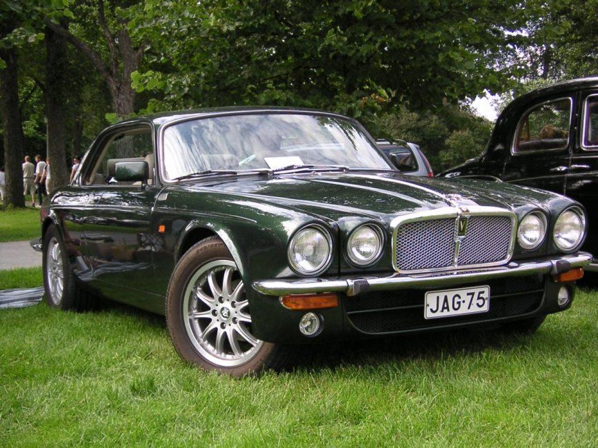 Jaguar XJ 70-х годов выпуска