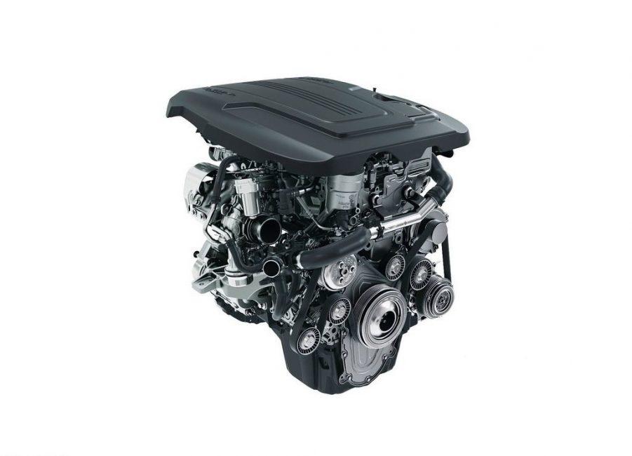 Двигатель Jaguar E Pace