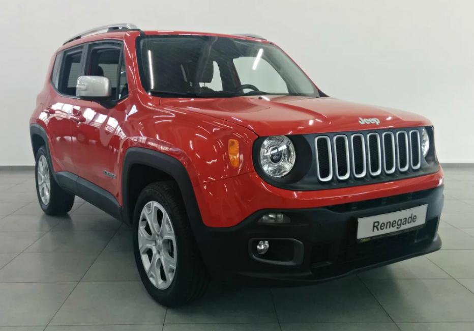 Jeep Renegade 2015 года выпуска